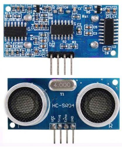 hc sr04 - Electrogeek