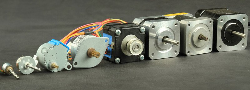 motor a pasos vareidad - Electrogeek