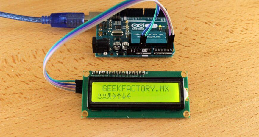 lcd 16x2 por i2c con arduino usando solo dos pines 5d652f9589649 - Electrogeek