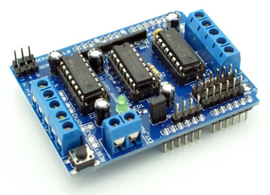 Shield L293D Dual Motor Driver - Electrogeek