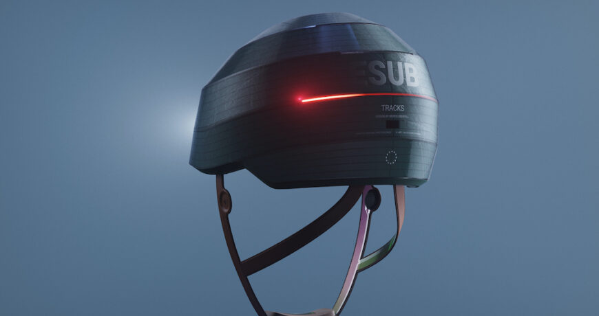 esub tracks es un casco de bicicleta inteligente con electronica incorporada para mayor seguridad 5f98bcbd649db - Electrogeek