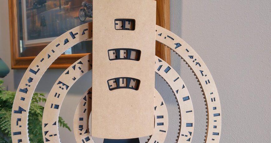este calendario perpetuo muestra la fecha el mes y el dia mediante anillos cripticos 5fa5ebb0e833f - Electrogeek