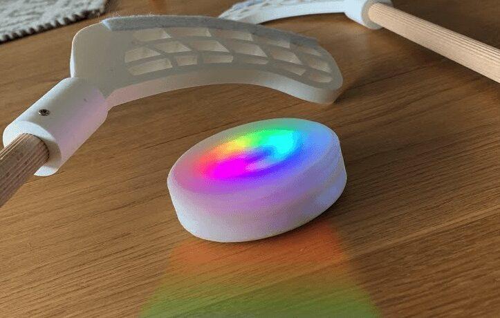 un disco impulsado por arduino con led que reaccionan a la aceleracion 5fa1f725ce8e2 - Electrogeek