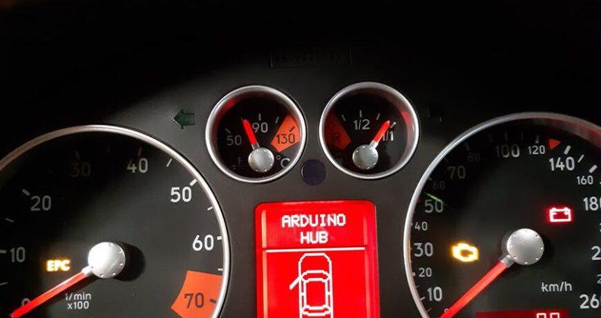 el tablero del audi tt 2002 obtiene una actualizacion de velocimetro digital con un escudo de bus can personalizado 600f63d8ccb88 - Electrogeek