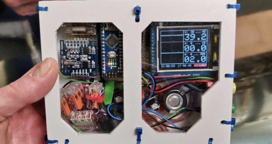 controle el consumo de energia de su hoverboard con este medidor registrador basado en arduino 603993cc6638c - Electrogeek