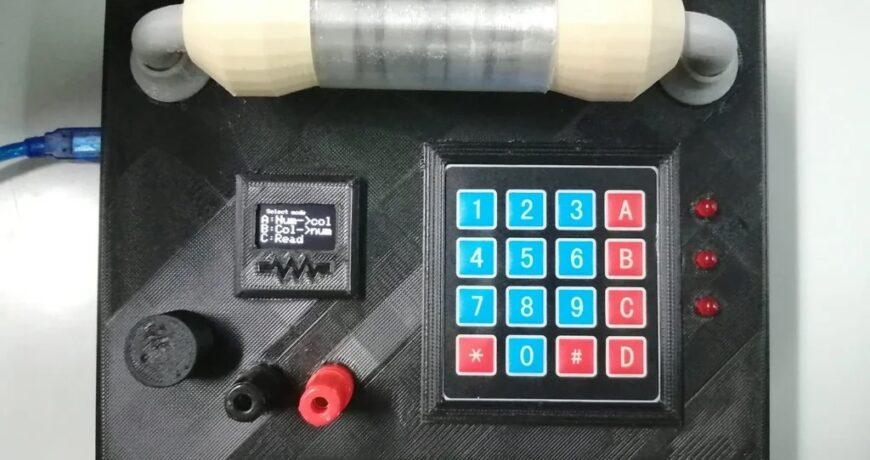 el ohmimetro 2 0 muestra los colores de la banda de resistencia 6019efe4059de - Electrogeek