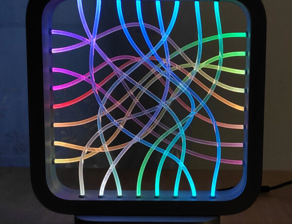 transmita su mirada a esta lampara led de fibra optica 601b4c338a76c - Electrogeek