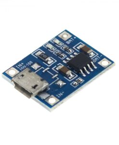 cargador de bateria litio tp4056 micro usb 1 - Electrogeek